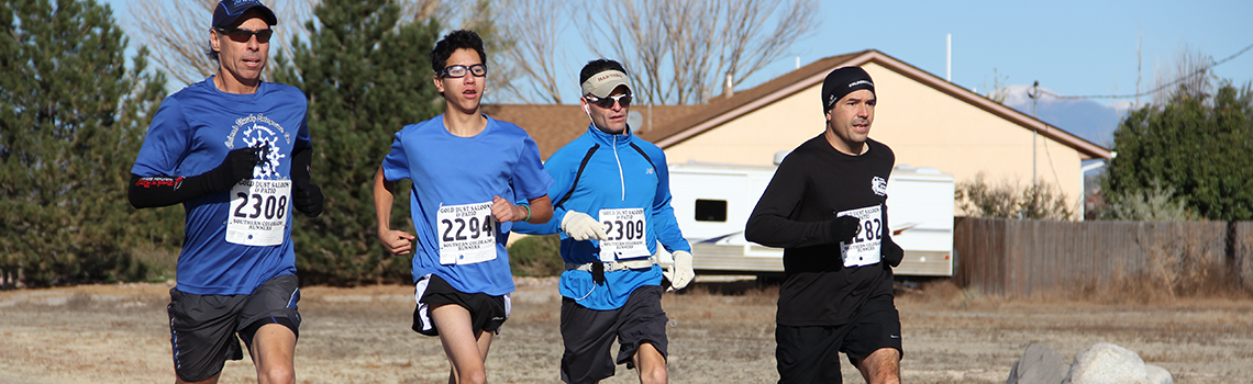Image of Southern Colorado Runners running at a predict race